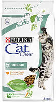 Cat Chow Sterilised для стерилизованных кошек, 1,5 кг