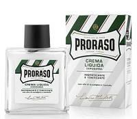 Жидкий крем после бритья Proraso с ментолом и эвкалиптом 100 мл