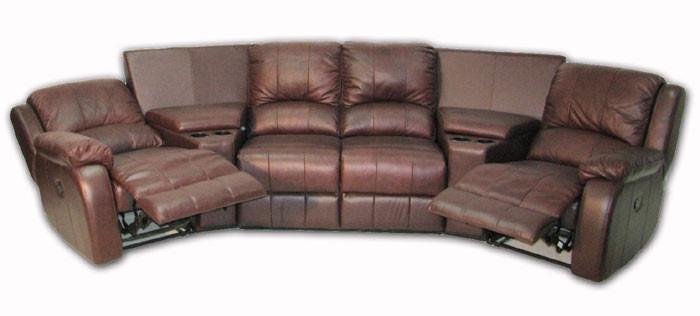 Стильний кутовий диван з реклайнером HOLLYWOOD