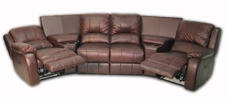 Стильний кутовий диван з реклайнером HOLLYWOOD, фото 2
