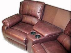 Стильный угловой диван с реклайнером HOLLYWOOD, фото 2