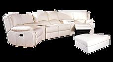 Стильний кутовий диван з реклайнером HOLLYWOOD, фото 3