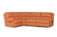 """Угловой кожаный диван с реклайнером """"Sydney"""" (Сидней)"""