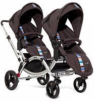 Прогулочная коляска для двойни ABC Design ZOOM Malibu коричневая