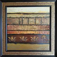 Абстрактная картина Цветы жизни (Картины для декора дома)
