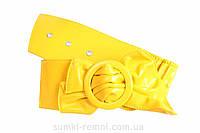 Великолепный пояс для женщин желтого