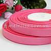 Лента репсовая розовый, 0,9 см