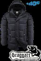 Длинная куртка на меху Braggart № 4784, фото 1