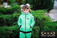 Спортивный детский костюм на девочку №1037 вик, фото 1