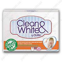 Хозяйственное мыло Duru Clean&White для стирки детских вещей, 4х125гр