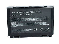 Аккумулятор(батарея) Asus A32-F82 A32-F52 L0690L6 L0A2016 F82 F83S K40 K40E K6C11 F52 K50 K51 K60 K61 P50 P81