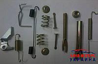 Ремкомплект задних тормозных колодок Chery QQ (Чери Кью-Кью) S11-3500000(Левый, правый)