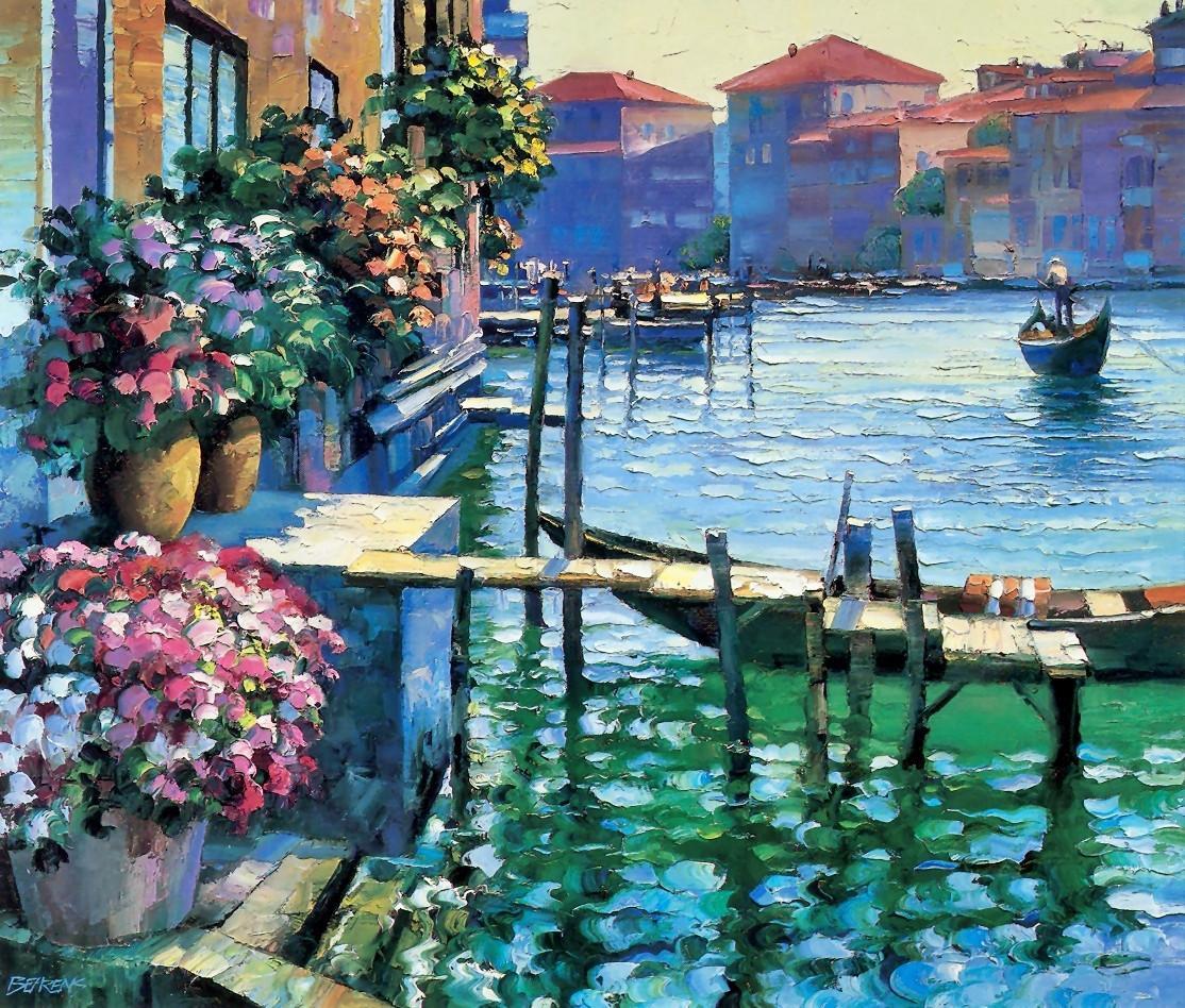 Картина по номерам «Идейка» (КНО227) Венеция (Говард Беренс), 50x40 см
