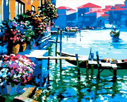 Картина по номерам «Идейка» (КНО227) Венеция (Говард Беренс), 50x40 см, фото 2