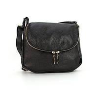 Маленькая кожаная сумочка овальной формы Viladi