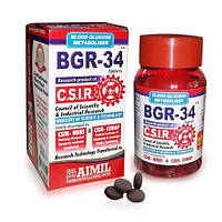 Альтернативный препарат для лечения диабета 2-типа BGR-34 / 100 tab Aimil