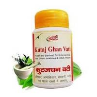 Прекрасно устраняет различные проблемы кишечника и желудка Кутаджгхан Вати / Kutajghan Vati, Shri Ganga / 50 г