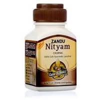 Он мягко очищает и успокаивает стенки кишечника Нитьям Чурна, Занду / Nityam Churna, Zandu / 100 гр