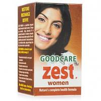 Аюрведические витамины для женщин Зест вумен / Zest women, Goodcare / 60 кап
