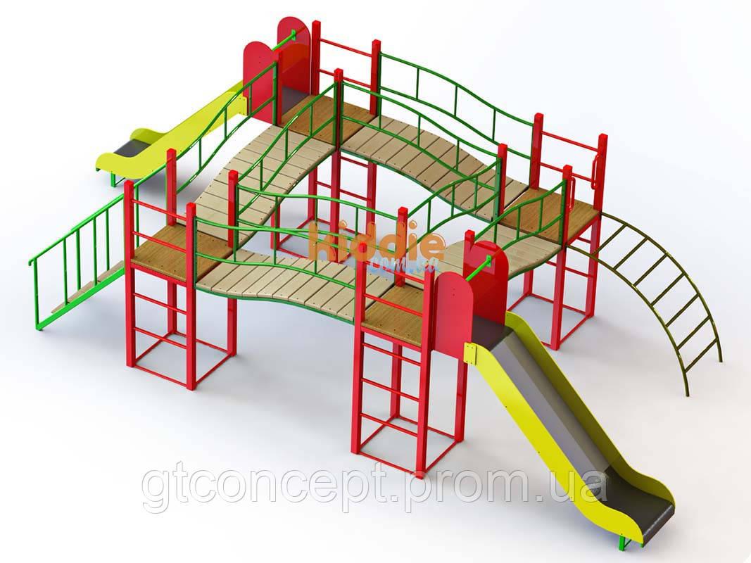 Игровой комплекс Kiddie1  для детей 6-13 лет - GTConcept в Харькове