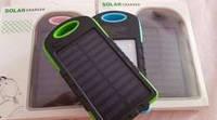Универсальная мобильная батарея А-50 30000 mAh Солнечная батарея+фонарь