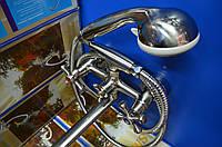 Смеситель для ванной комнаты Smes 143 Euro Product Stainless Steel(нержавейка)