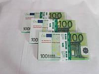 Сувенирные деньги 100 Евро Пачка 100Е