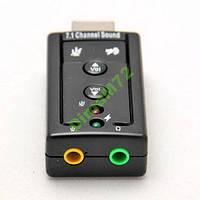 USB Звуковая карта 7.1 3D звук аудио sound внешняя