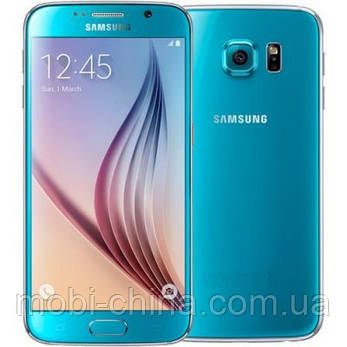 Смартфон Samsung Galaxy S6 32GB G920 Blue, фото 2