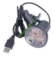 USB лампа светодиодная на прищепке LED