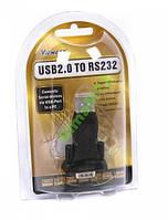 USB 2.0 на COM RS232 переходник  VE042; до 4Mb