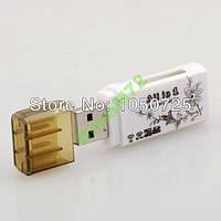 USB Кардридер для карт памяти MS microSD TF MMC