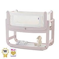 Приставная кроватка люлька для новорожденных (цвет Blush), Snuz Pod