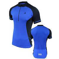 Велофутболка мужская с карманами Radical Racer SX, синяя
