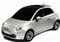 Хром накладки для Fiat 500/500L