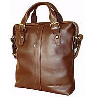 Мягкая мужская сумка из натуральной кожи  FC 414