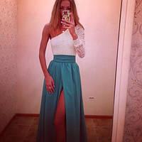 Вечернее платье ландыш ян $