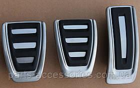 Накладки на педали Audi Q5 2008-15 механика новые оригинальные
