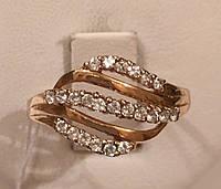 Кольцо золотое 585*,арт.3054 d