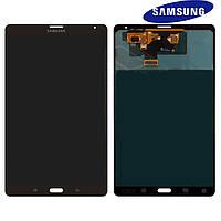 Дисплейный модуль (дисплей + сенсор) для Samsung Galaxy Tab S 8.4 LTE T705, 3G, бронзовый, оригинал