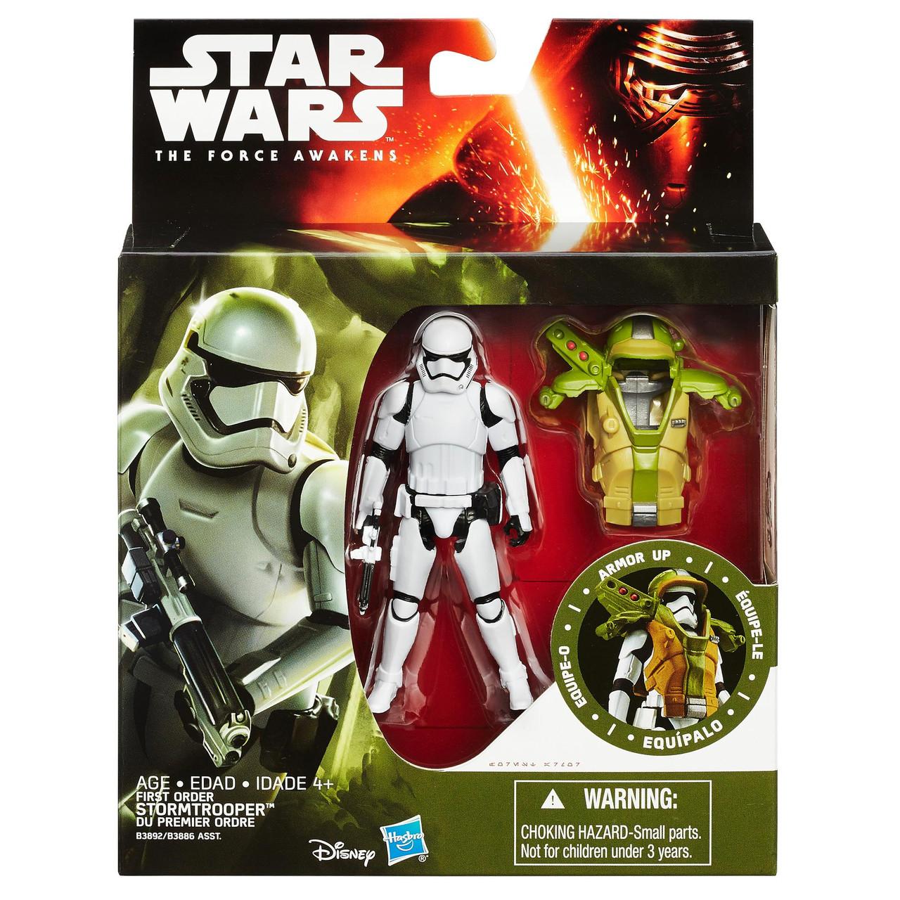 Штурмовик первого порядка с броней, Звездные войны 7 - First Order Stormtrooper, The Force Awakens, Hasbro