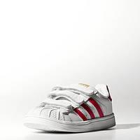Детские кроссовки Adidas Superstar Foundation (Артикул: S77612)