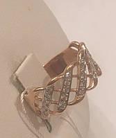 Кольцо золотое 585 проба, арт.3062 d
