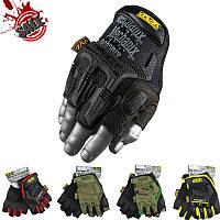 Тактические перчатки Беспалые MECHANIX чёрные