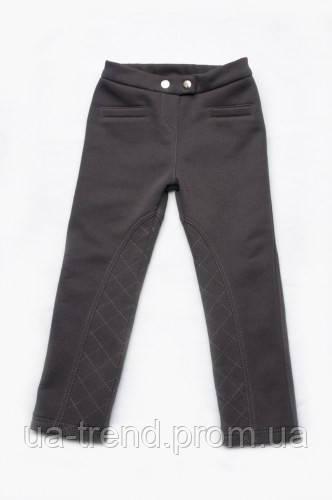 Утепленные зимние брюки-скинни  с начесом