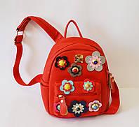 Рюкзак женский красный 305