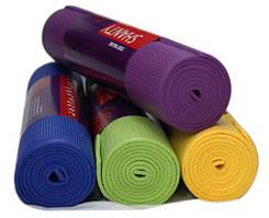 Коврик,для,йоги,йога мат,для фитнеса аэробики в зал толщина 3 6 10 мм