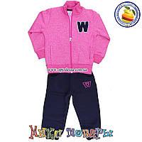 Детские костюмы с начёсом для девочек Размеры: 3-4-5-6 лет (4717-3)