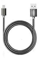 Плетеный черный USB кабель Nkobee  для Apple Iphone 5, 5s, 6, 6s, 6 Plus, фото 1