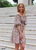 Платье женское 68 НГ в цветочки